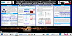 Performance Assessment of Large Astronomical Databases Maria Patterson, 2013